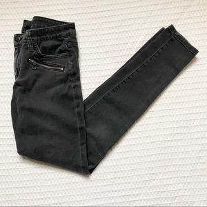Joes Jeans zipper skinny grey Brynn size 27